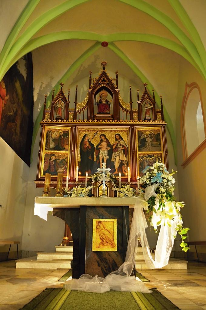 Oltář po restaurování v r. 2013