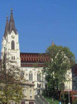 Kostel po opravě včervnu 2013