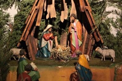 Betlém v kostele sv. Františka z Assisi