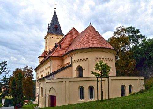 Kostel sv. Prokopa v Braníku Praha 4