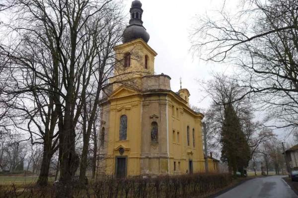 kostel  Narození sv. Jana Křtitele, Osov