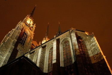 Brno, katedrála sv. Petra a Pavla