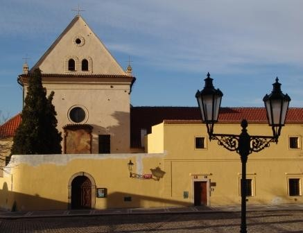 Praha 1 - Hradčany, kostel Panny Marie Královny andělů