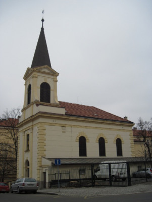 Praha 4 - Nusle, kostel sv. Václava