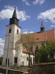 Brno-Žebětín, kostel svatého Bartoloměje