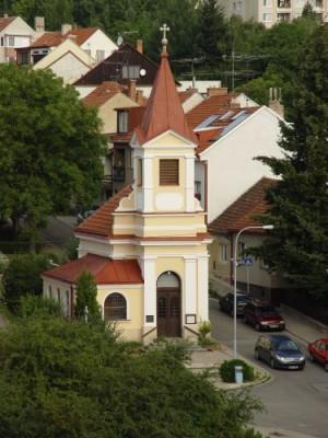 Brno-Kohoutovice, kaple Svaté Rodiny