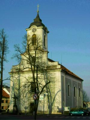 Žebrák, kostel sv. Vavřince